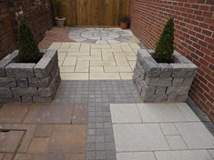 'Secret Garden' Paving Display - new for 2013